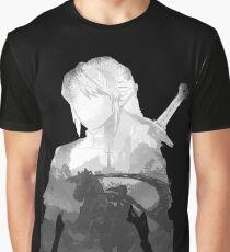 Monochrome Hero Graphic T-Shirt