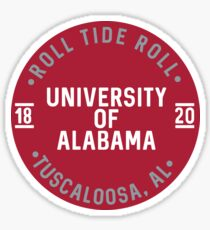 University of Alabama - Style 25 Sticker