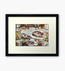The Creation of Adam - Photograph by Anthony Symes Framed Print