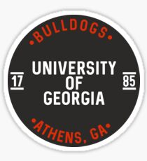 University of Georgia - Style 25 Sticker