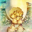 FAT AND SASSY EASTER HATCHLINGS by Tammera