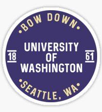 University of Washington - Style 25 Sticker