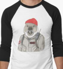 Bill-Hog Men's Baseball ¾ T-Shirt