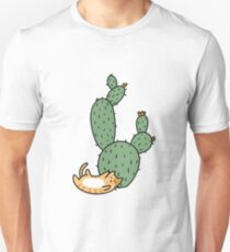 Cacti Cats Unisex T-Shirt