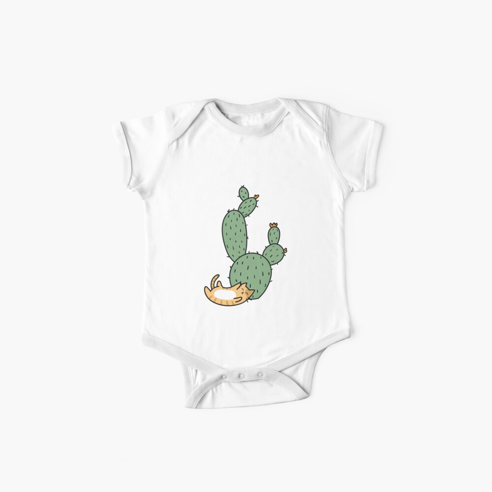 Cacti Cats Baby One-Piece