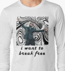 MORIARTY BREAK FREE - NOT FOR DARK CLOTHING Long Sleeve T-Shirt