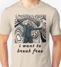 MORIARTY BREAK FREE - NOT FOR DARK CLOTHING Unisex T-Shirt
