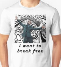 MORIARTY BREAK FREE - NOT FOR DARK CLOTHING T-Shirt