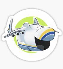 Antonov 225 Mouth Sticker