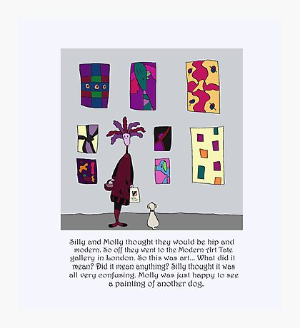 Silly Art Photographic Print