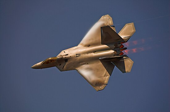 F-22 Raptor by Andreas Mueller