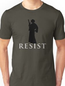 Star Wars Leia: Resist Unisex T-Shirt