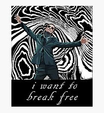 MORIARTY BREAK FREE - DARK CLOTHING Photographic Print