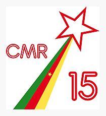 CAMEROON STAR 2015 Photographic Print