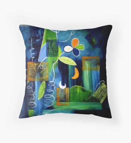 A Place To Grow Throw Pillow