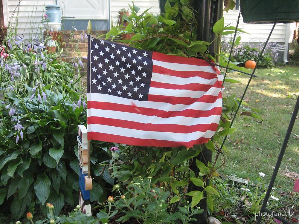 the american flag by photofanatic