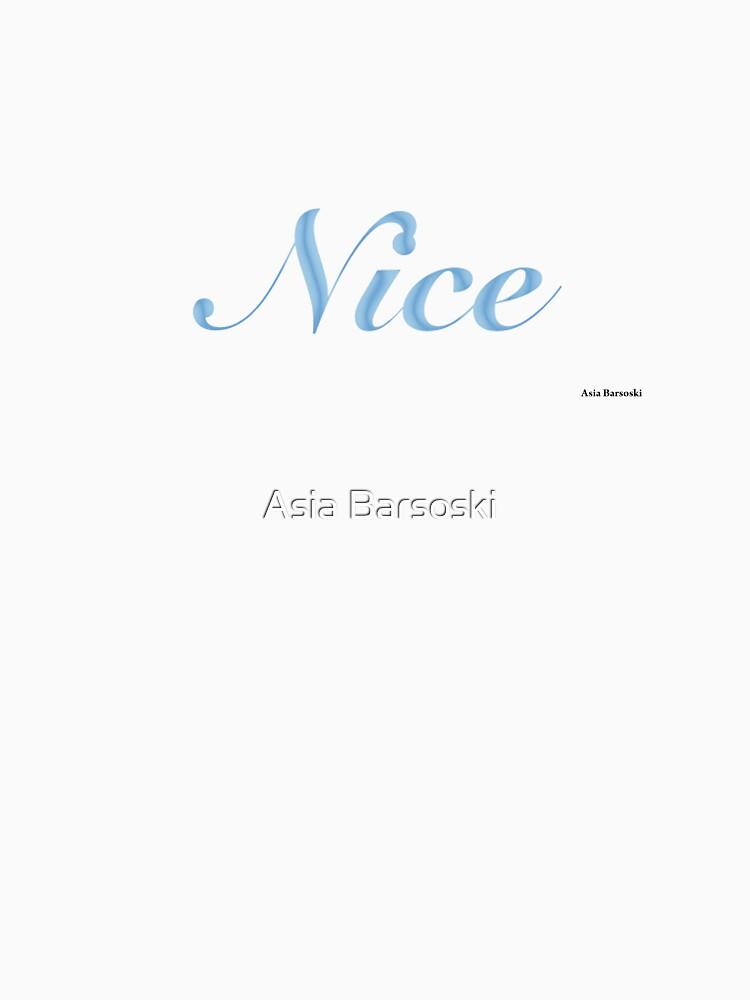 Nice by abarsoski