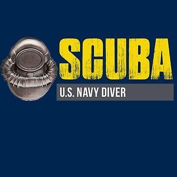 U.S. Navy SCUBA Diver by dtkindling