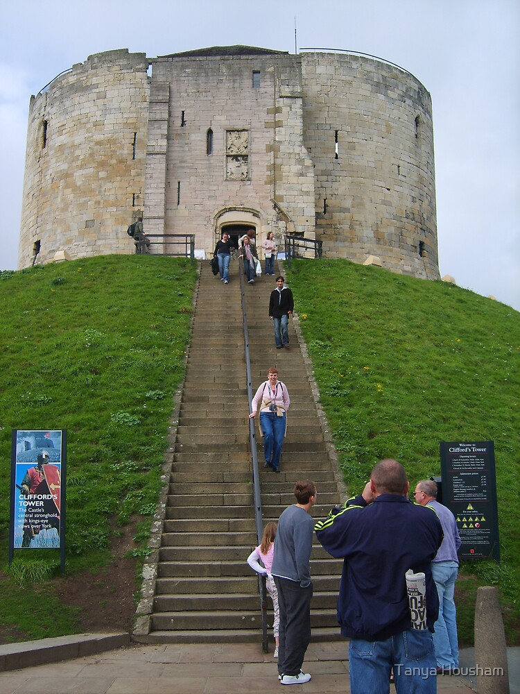 Clifford's Tower by Tanya Housham