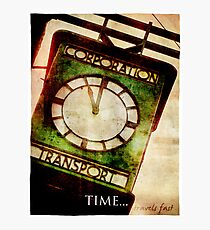 Time Travels Fast Photographic Print