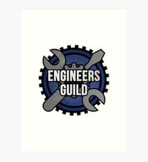 Engineers Guild Art Print