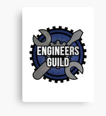 Engineers Guild Canvas Print