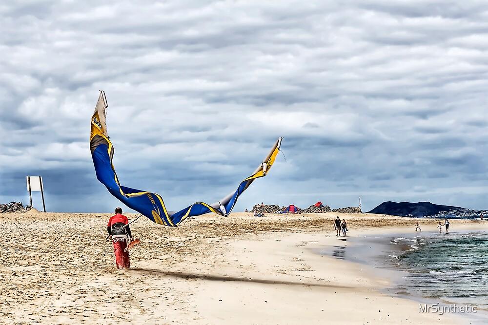 Walk the Kite by MrSynthetic