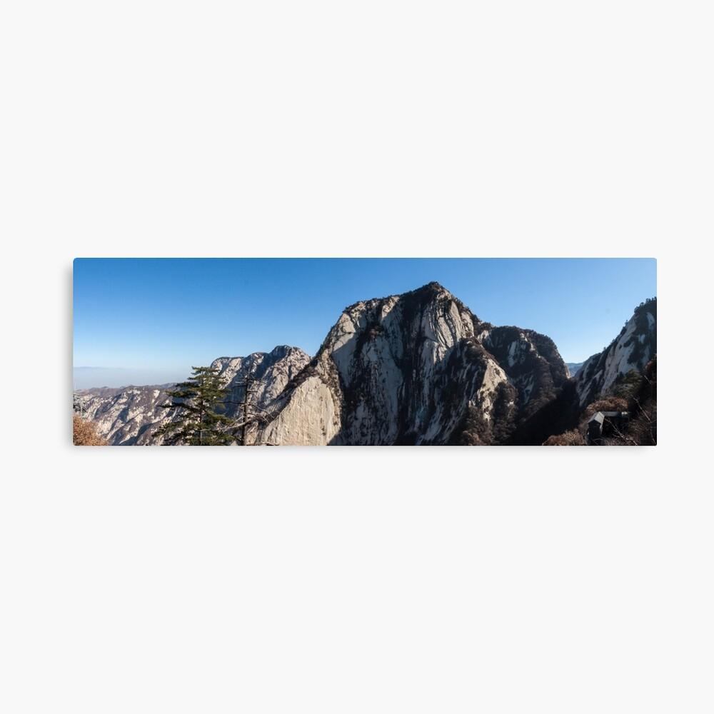 Mount Huashan Canvas Print