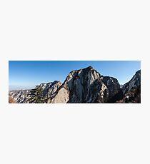 Mount Huashan Photographic Print