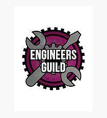 Engineers Guild Photographic Print