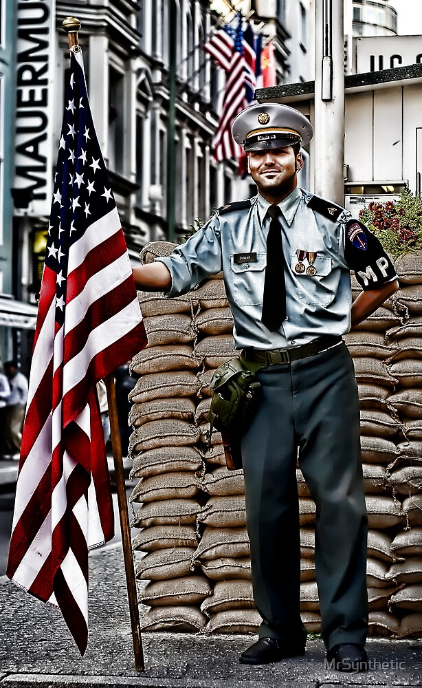 Checkpoint Charlie by MrSynthetic