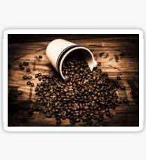 Coffee bar advertisement Sticker