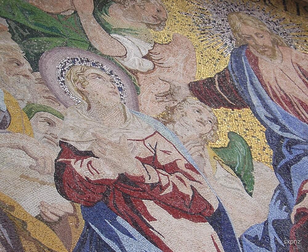 Mosiac detail by sxpnz