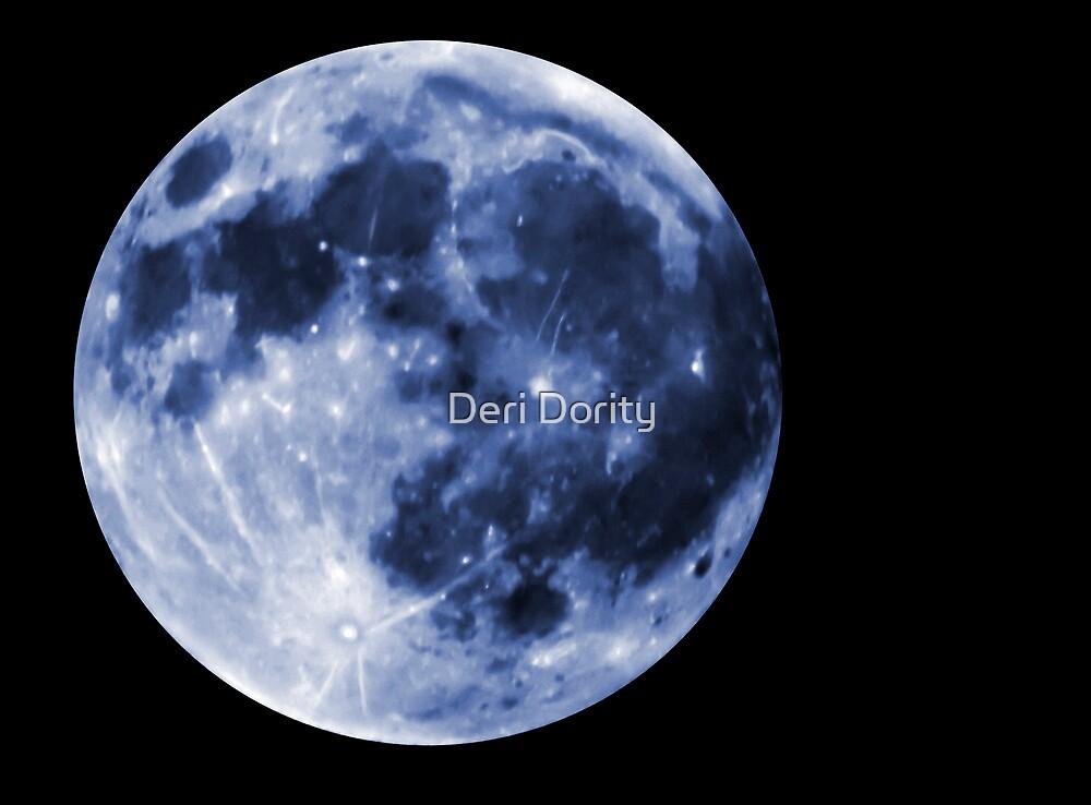 Blue Moon by Deri Dority