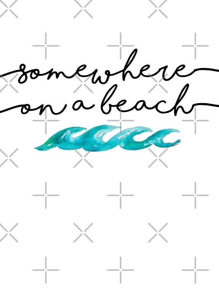 somewhere on a beach by amariei