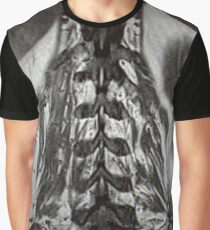 Lumbar Lumbar Paraspinous Muscles with Lower Lungs, Liver and Spleen Graphic T-Shirt