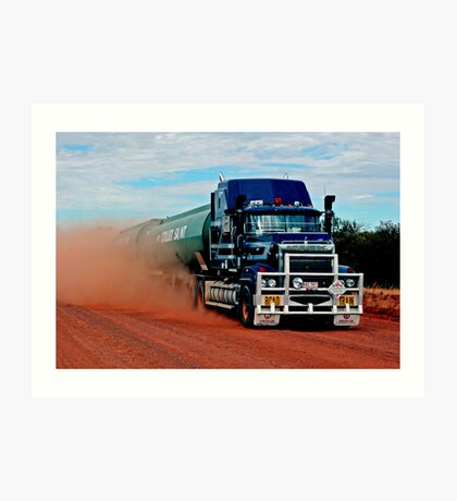 Tanami Road Art Print