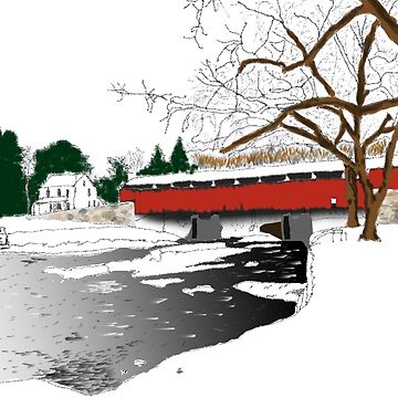Covered Bridge Park by zfollweiler