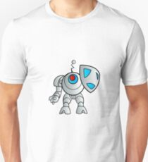 robot with a shield Unisex T-Shirt