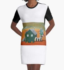Moving house Graphic T-Shirt Dress