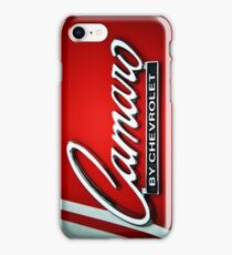 Classic Camaro iPhone Case/Skin