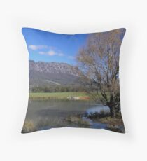 Australia - Tasmania, Mt Roland Throw Pillow