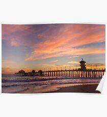 Newport Beach Pier 6 Poster