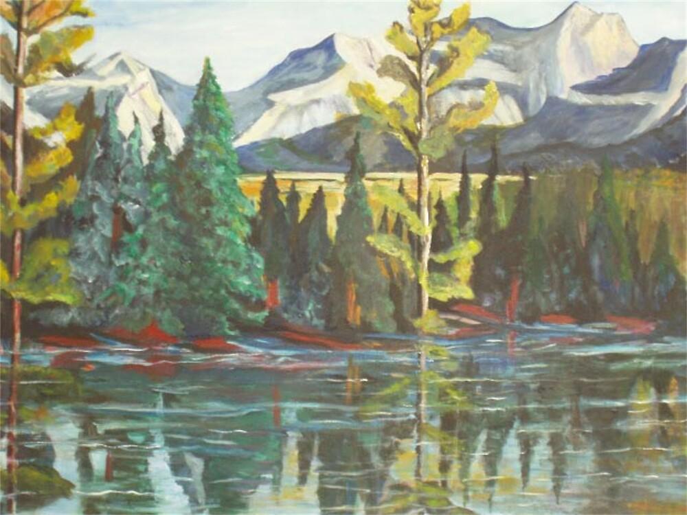 Banff, Canada by Eileen Kasprick