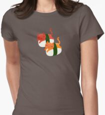 Sushi Cats Womens Fitted T-Shirt