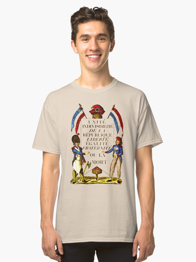 French Revolution Poster Classic T-Shirt Front