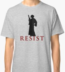 Star Wars Leia: Resist Color Classic T-Shirt