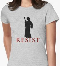 Star Wars Leia: Resist Color Women's Fitted T-Shirt