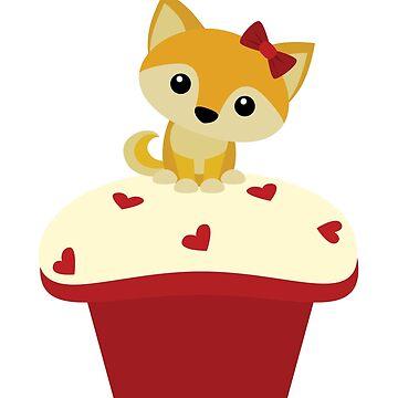 Red Velvet Pupcake by kieutiepie