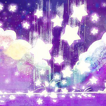 falling stars by MariaDaregin